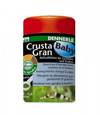 Dennerle CrustaGran Baby Granulatfutter 100 ml