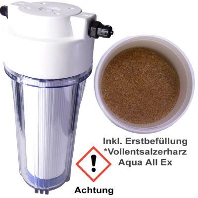 Aqua Light Silikat Kieselsäurefilter, Reinstfilter inkl. Mischbettharz