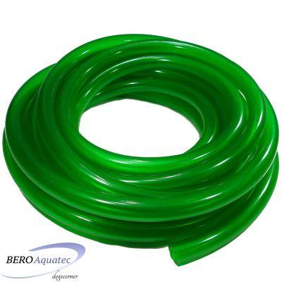 Aquariumschlauch grün 9/12er Meterware