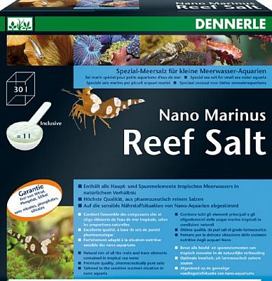 Dennerle Nano Marinus ReefSalt Meersalzmischung 1 kg