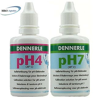 Set Dennerle Eichlösung pH4 u. pH7 je 50 ml
