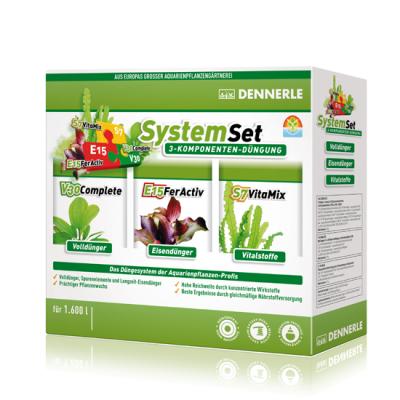 MEDI Dennerle Dünge SystemSet E15 20 Tabs, S7 50 ml, V30 50 ml