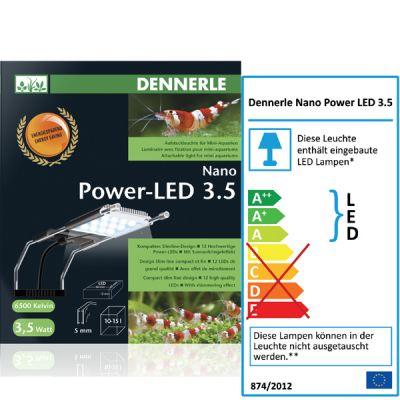 Dennerle Nano Power-LED 3.5 Aufsteckleuchte (Aquarium 10-15l)