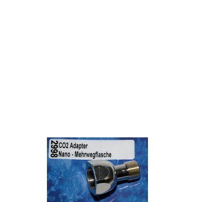 Dennerle CO2 Adapter Nanodruckminderer auf Mehrwegflasche