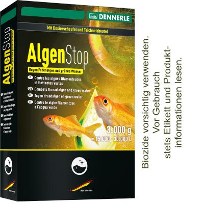Dennerle AlgenStop Pellets inkl. Netzbeutel 3.000g