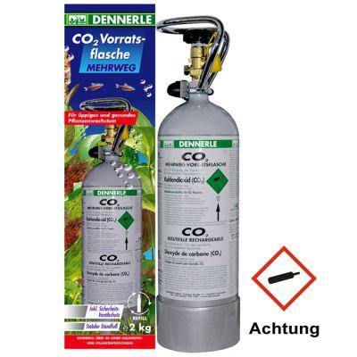 Dennerle CO2 Mehrweg-Vorratsflasche 2.000g