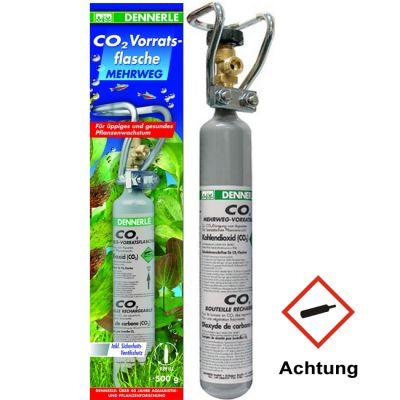 Dennerle CO2 Mehrweg-Vorratsflasche 500g