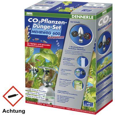 Dennerle CO2 Anlage Mehrweg 600 Quantum 2 kg