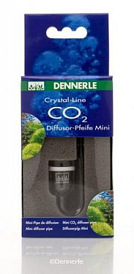 Dennerle Crystal-Line Glas CO2-Diffusor Pfeife Mini