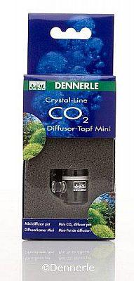 Dennerle Crystal-Line Glas CO2-Diffusor-Topf Mini
