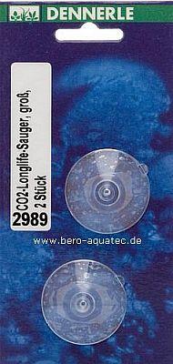 Dennerle CO2-Longlife-Sauger transp. gross 2 St.