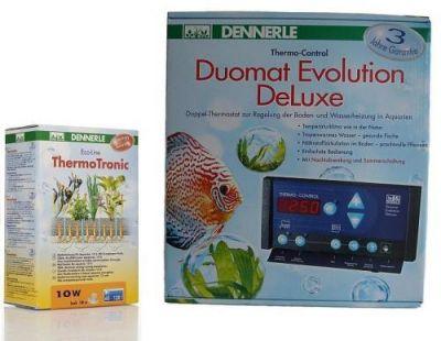 TechnikSet Dennerle ThermoTronic 10W + Duomat Evolution DeLuxe