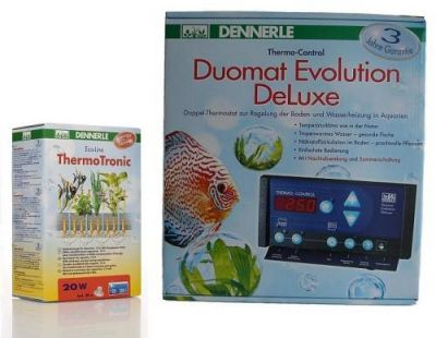 TechnikSet Dennerle ThermoTronic 20W + Duomat Evolution DeLuxe