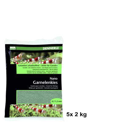 Dennerle Nano Garnelenkies Java grün 5x 2 kg