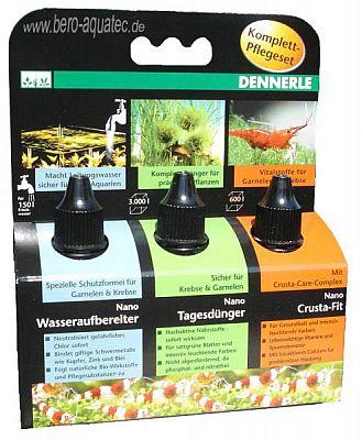 Dennerle Nano Wasser-, Crusta- u. Pflanzen-Pflegeset je 15ml