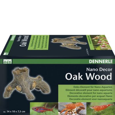 Dennerle NanoDecor Oak Wood Deko Element