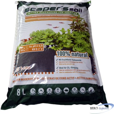 Dennerle Scapers Soil Bodengrund 8 Lit.*