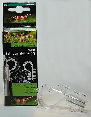 Dennerle Nano Schlauchführung transparent f. 4/6er Schläuche