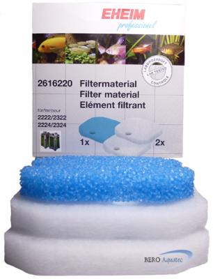 EHEIM Filtermedienset 2616220 1xMatte 2xVlies f. 2422, 2424