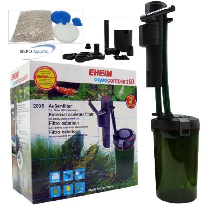 EHEIM aquaCompact 60 Filter (f. Offene Aquarien 30-60 l)