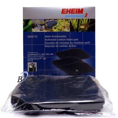 EHEIM 3x Aktiv-Kohlematte f. Filter 2071, 2073, 2074, 2075