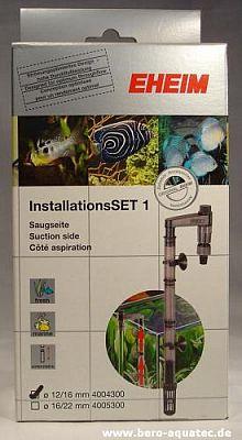 EHEIM Installations-Set 1 – Filter Sauganschlussset f. 12/16er