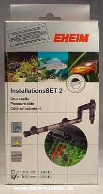 EHEIM Installations-Set 2 – Filter Druckanschlusset 16/22er