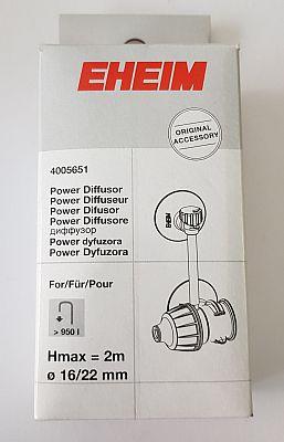 EHEIM Power Diffusor f. Schlauch 16/22 (Pumpen >950l/h Hmax 2m)