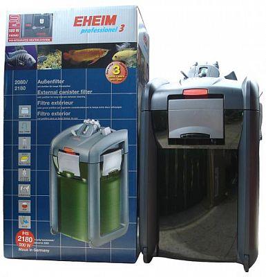 EHEIM 2180 prof. 3 Thermo Außenfilter Mod. 1200XLT (Aquarien bis ca. 1200 l)