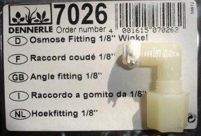 Dennerle Fitting 1/8 Winkel f. Osmoseanlage