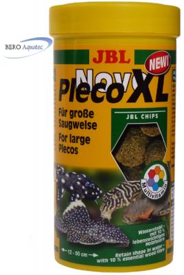JBL NovoPleco XL Chips herbivore Welse 250 ml