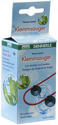 Dennerle Klemmsauger f. Bodenfluter 8-100W 5 St.