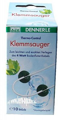 Dennerle Klemmsauger f. Bodenheizung ThermoTronic 10 St.