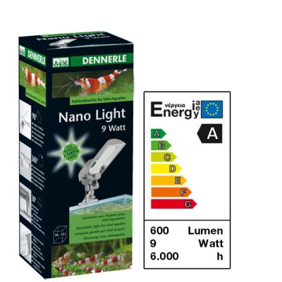 Dennerle Nano Light Aufsteckleuchte 9W
