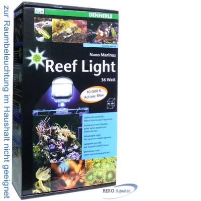 Dennerle Nano Marinus ReefLight 2:2 Aufsteckleuchte 36W