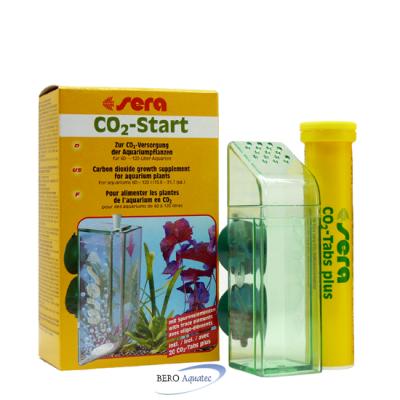 sera CO2-Start f. 60-120l inkl. 20 CO2-Tabs plus