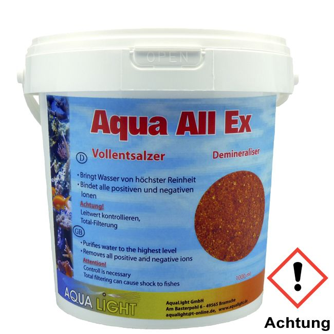 Aqua Light AquaAllEx Vollentsalzerharz 1.000 ml