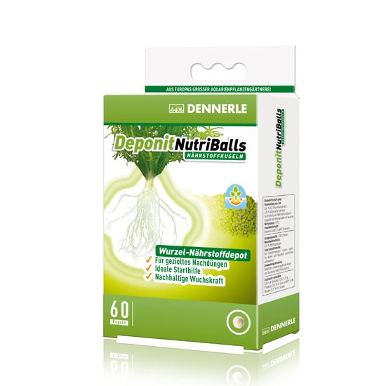 Dennerle Deponit NutriBalls 60 Nährstoffkugeln