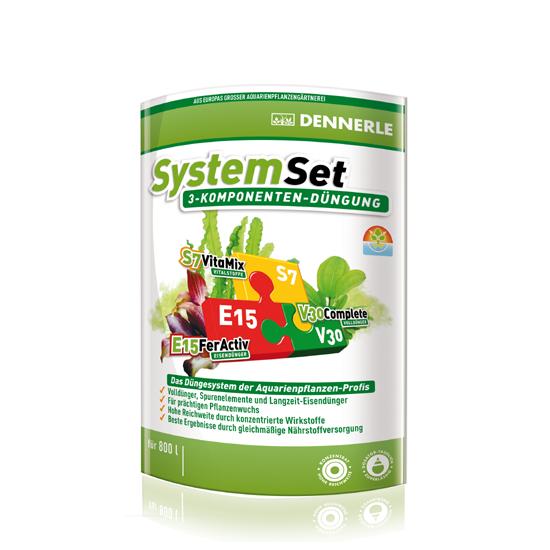 MINI Dennerle Dünge SystemSet E15 10 Tabs, S7 25 ml, V30 25 ml