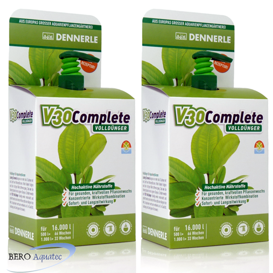Dennerle V30 Complete Volldünger 2x 500 ml