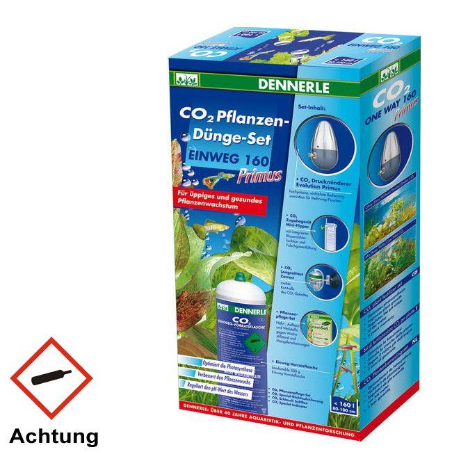 Dennerle CO2 Anlage Einweg 160 Primus 500g