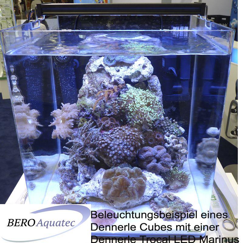 dennerle trocal led marinus 40 24w aquarien 38 55 cm. Black Bedroom Furniture Sets. Home Design Ideas