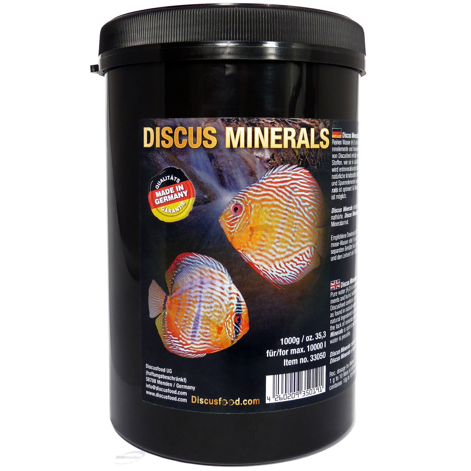 Discusfood Discus Minerals 1.000 g