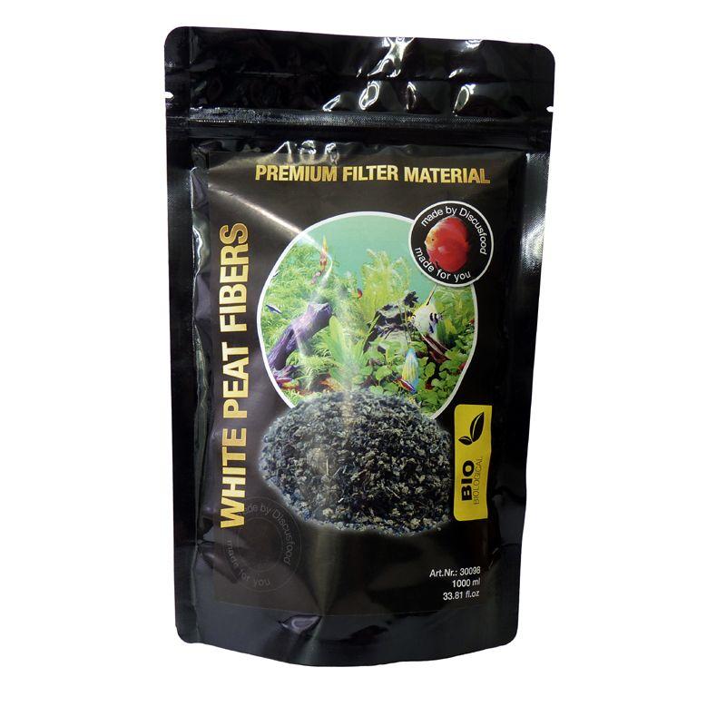 Discusfood White Peat Fibres Weisstorffasern 1.000 ml