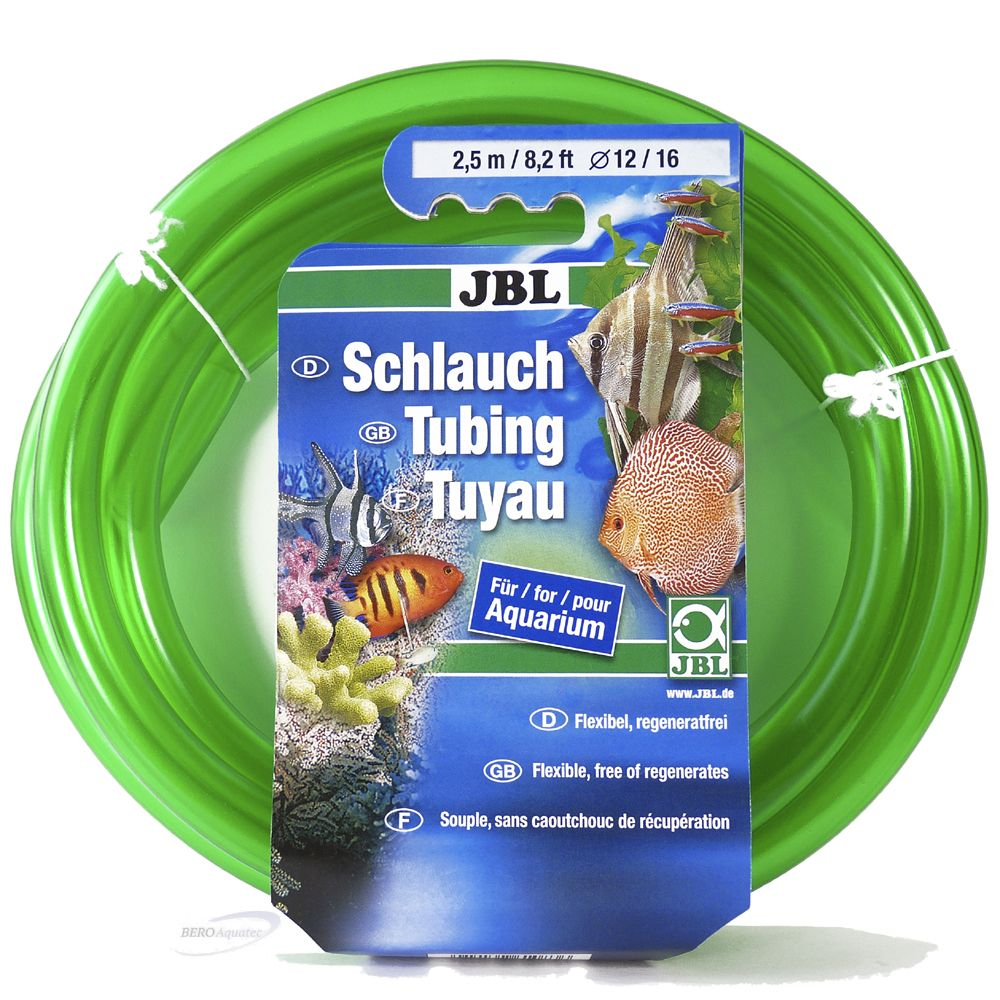 JBL Aquaschlauch grün 12/16er 2,5 m