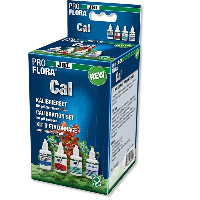 JBL ProFlora Cal Kalibrier-, Pflege- u. Reinigungsset f. pH-Elektroden