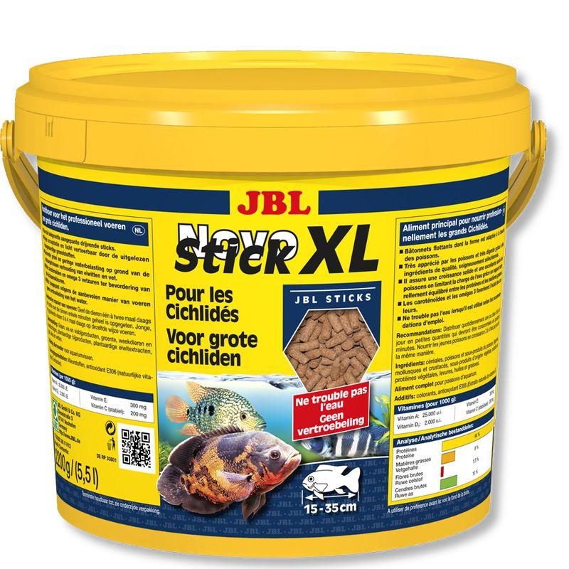 JBL NovoStick XL Futtersticks f. carnivore Großchichliden 5.500 ml