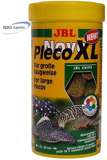 JBL NovoPleco XL Chips herbivore Welse 1.000 ml
