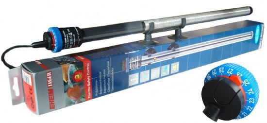 EHEIM Jäger Präzision Regelheizer 50W (L: 24,3 cm, Aquarium 25-60l)