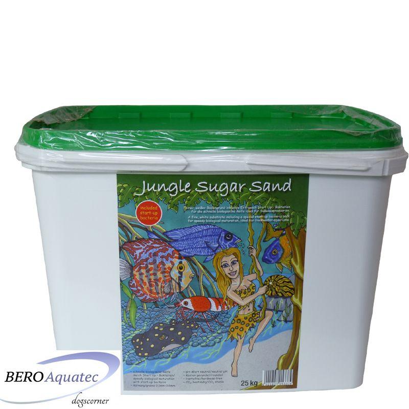 Preis Jungle Sugar Sand Aquariumsand weiß 25 kg